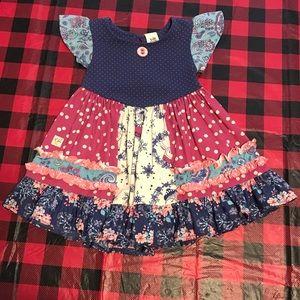 Wildflowers dress sz2